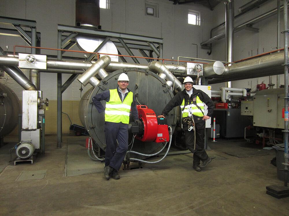 Service thermische olie ketels - vacatures