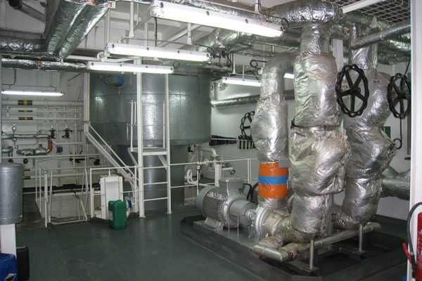 brandstofverwarming voor zeeschepen