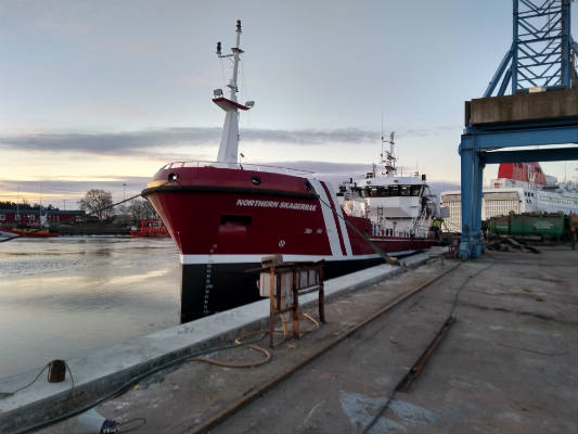 commissioning Northern Skagerrak