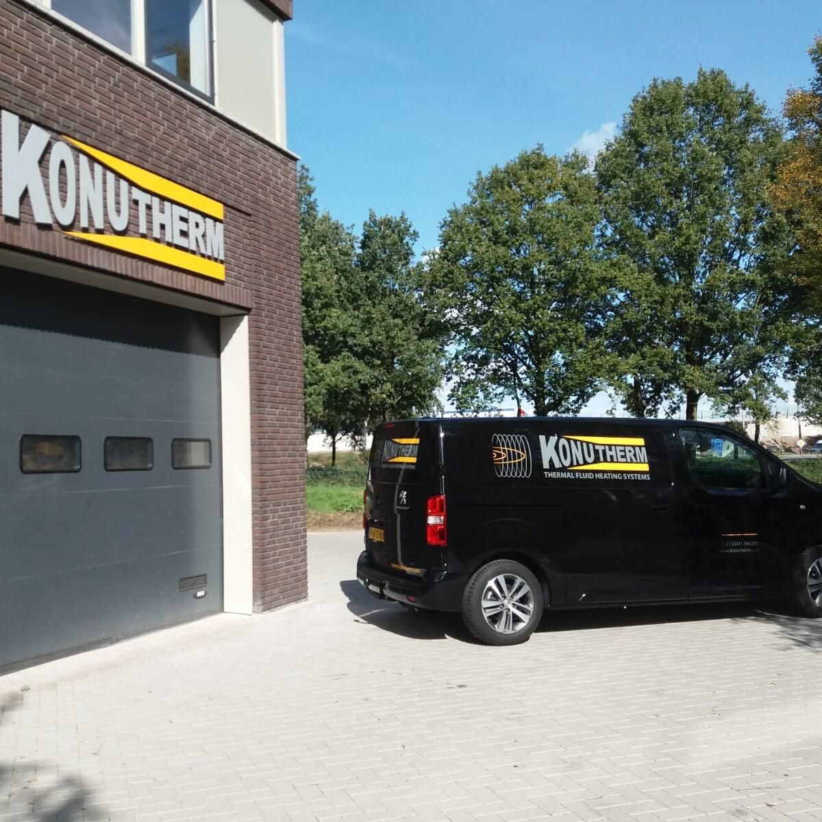 Nieuw kantoor Konutherm Baarn