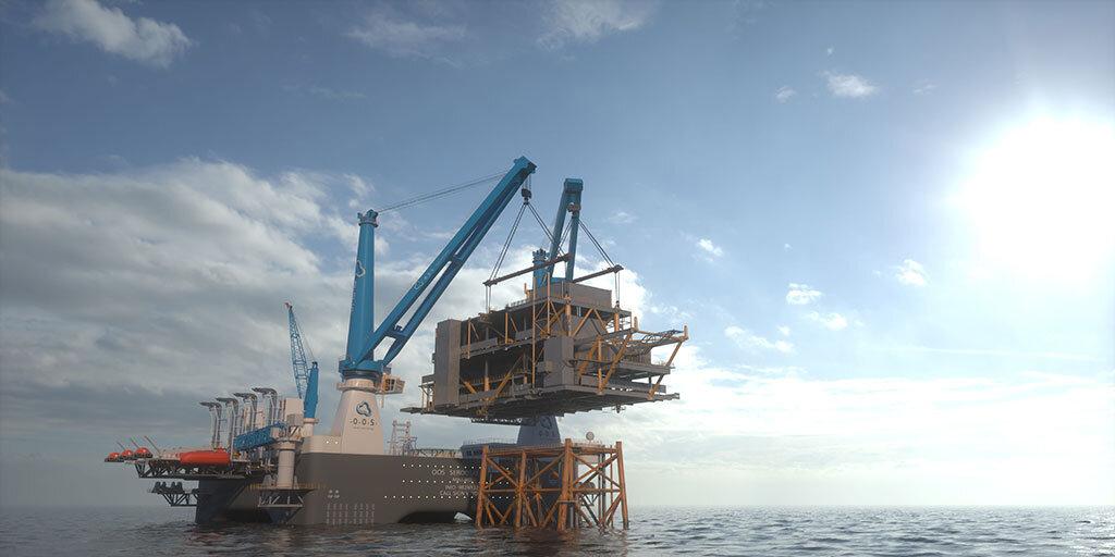 Commissioning SSCV OOS Serooskerke at CMHI shipyard in Haimen.