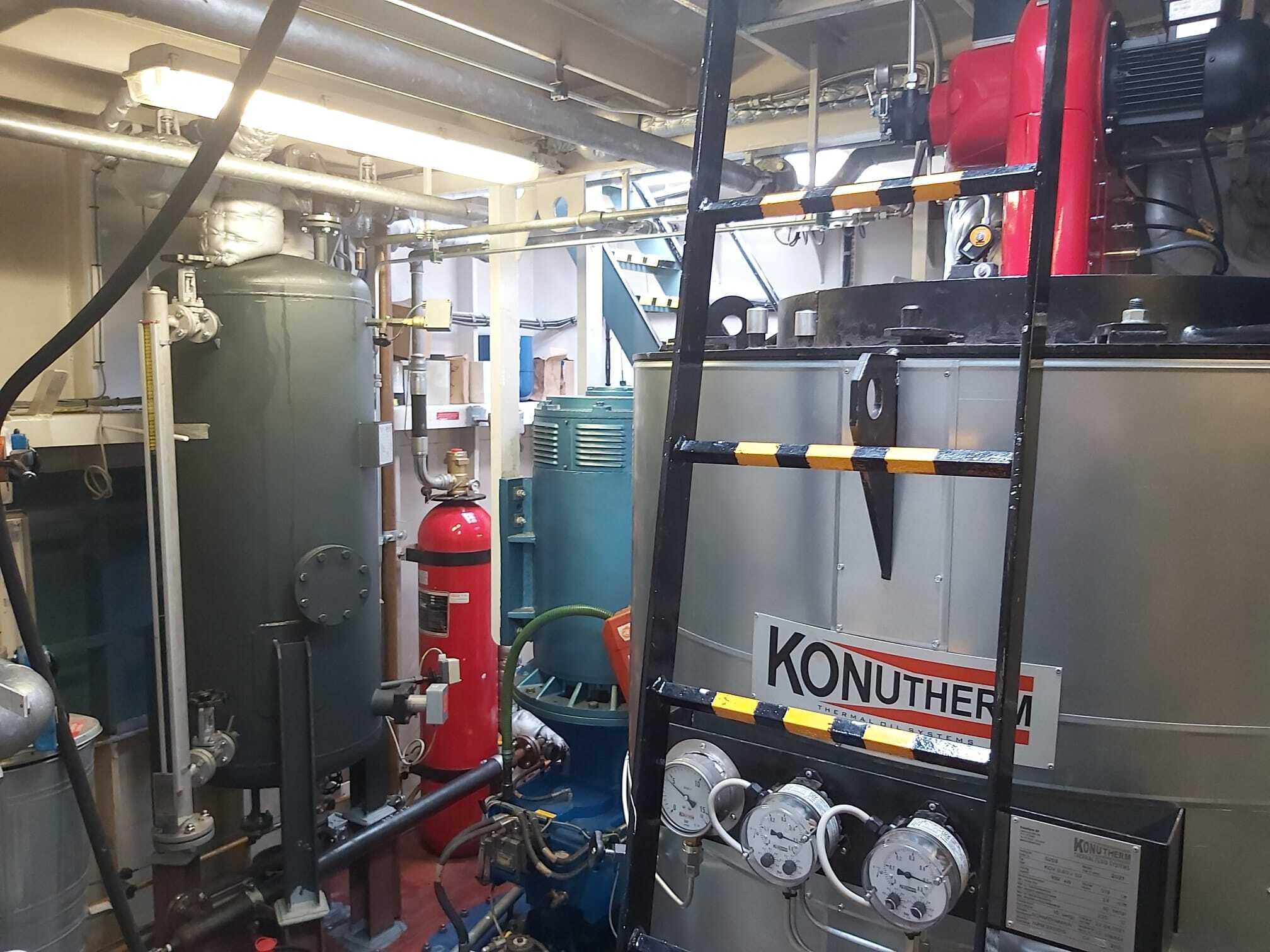 Ombouw stoomsysteem naar thermische olie installatie